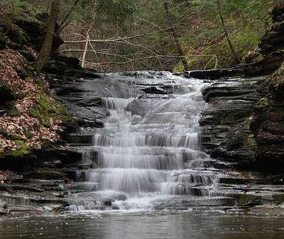 Photograph - Cuyahoga Valley Hidden Waterfall by Dan Sproul