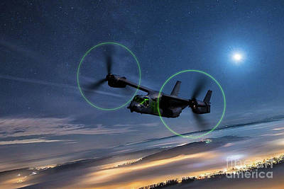 Graduation Hats - CV-22 Osprey by Airpower Art