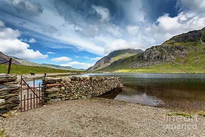 Photograph - Cwm Idwal Lake Snowdonia by Adrian Evans