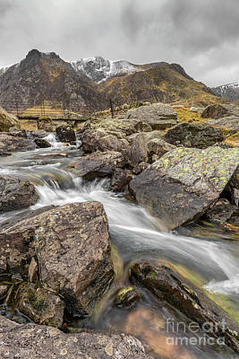 Photograph - Cwm Idwal Rapids by Adrian Evans