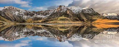 Photograph - Cwm Idwal Reflections by Adrian Evans