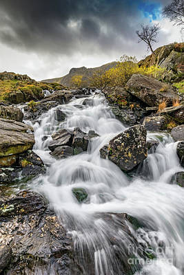 Photograph - Cwm Idwal River Snowdonia by Adrian Evans