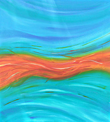 Painting - Cy Lantyca13 by Cyryn Fyrcyd