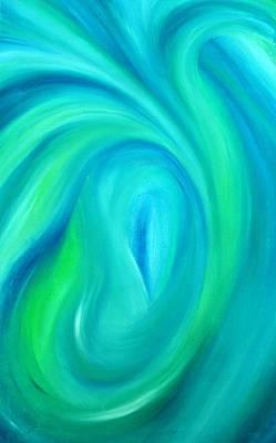 Painting - Cy Lantyca17 by Cyryn Fyrcyd