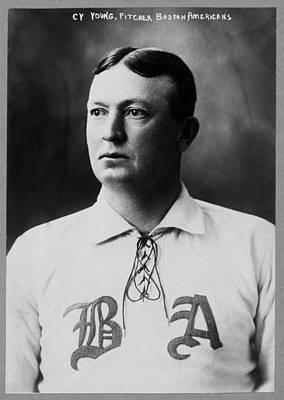 Cy Young Art Print by Mountain Dreams