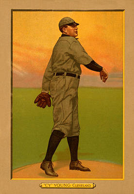 Painting - Cy Young by Vintage Pix