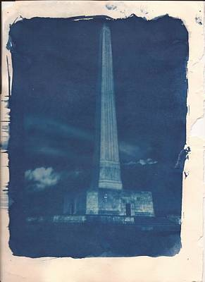 Photograph - Cyanotype On Manila by Joshua House