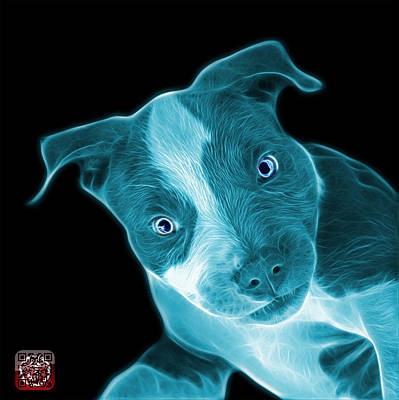 Painting - Cyanpitbull 7435  - Bb by James Ahn