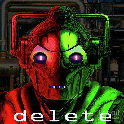 Dr. Teeth Digital Art - Cyberman by Neil Finnemore