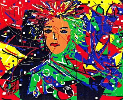 Digital Art - Cyberspace Goddess by Natalie Holland