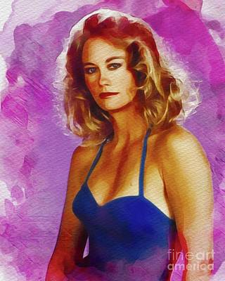 Royalty-Free and Rights-Managed Images - Cybil Shepherd, Actress by Esoterica Art Agency