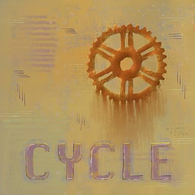 Mixed Media - Cycle by Eduardo Tavares