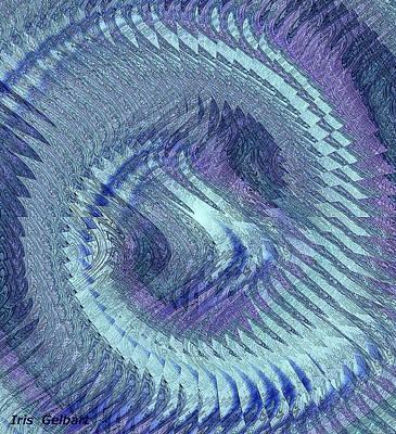 Digital Art - Cycle by Iris Gelbart