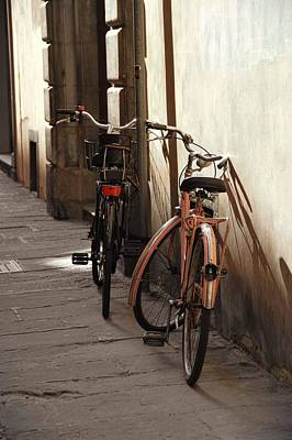 Photograph - Cycle Parking by JAMART Photography