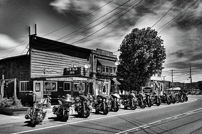 Photograph - Cycles In Old Forge by David Patterson