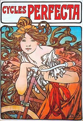 Painting - Cycles Perfecta by Alphonse Mucha