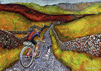 Painting - Lancashire Lanes II by Mark Howard Jones