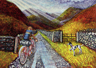 Painting - Lancashire Lanes 3 by Mark Howard Jones