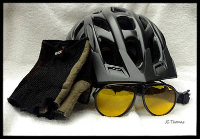 Photograph - Cycling Gear by James C Thomas