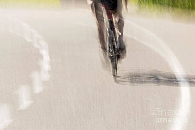 Photograph - Cycling by Kate Brown