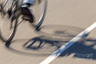Photograph - Cycling Two by Kate Brown