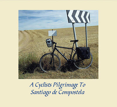 Photograph - Cyclists Pilgrimage by John Farley