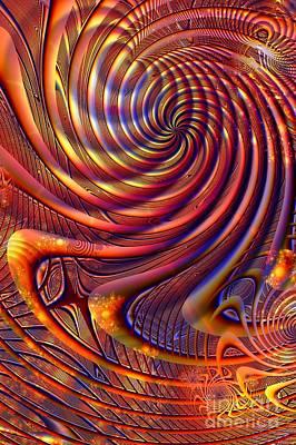 Fantasy Digital Art - Cyclone by John Edwards