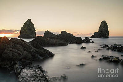Photograph - Cyclops Islands At Sunrise by Giovanni Malfitano