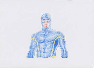 Cyclops Drawing - Cyclops by Toni Jaso
