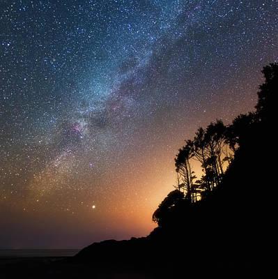 Photograph - Cygnus Over Neptune by Darren White
