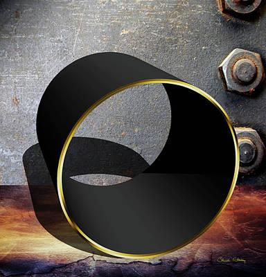 Digital Art - Cylinder Still Life by Chuck Staley