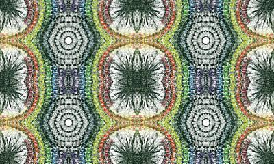 Lgbt Mixed Media - Cymatics Geometry #1546 by Rainbow Artist Orlando L aka Kevin Orlando Lau
