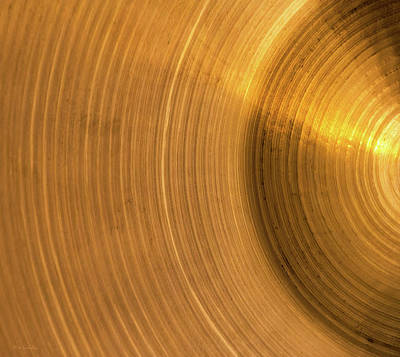 Photograph - Cymbal by Wim Lanclus