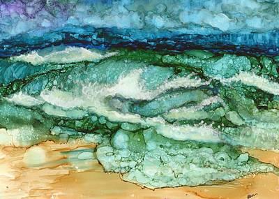 Joy Dorr Painting - Cymopoleia by Joy Dorr