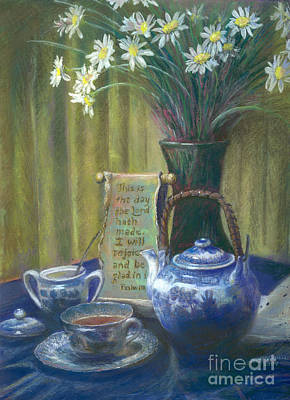 With Scripture Painting - Cyndis Tea Time by Penny Neimiller