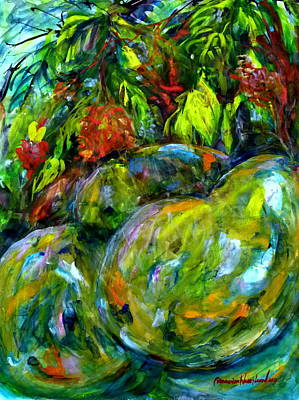Painting - Cynometra Cauliflora by Wanvisa Klawklean