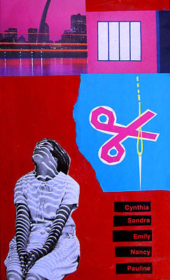 Cynthia...sandra... Art Print by Adam Kissel