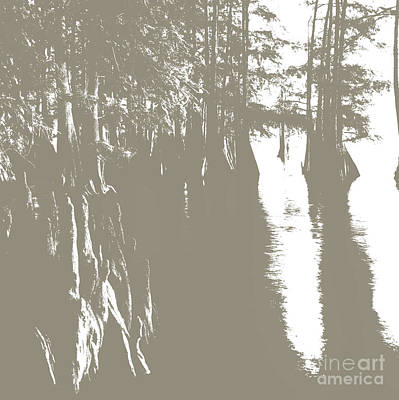 Alligator Mixed Media - Cypress Bayou by Francelle Theriot