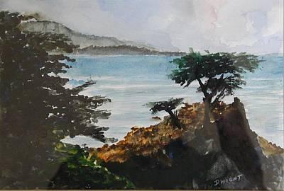 Cypress Art Print by Dwight Williams