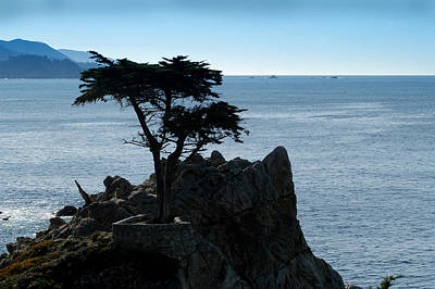 Huisken Photograph - Cypress Point At Monterey Peninsula by Lyle  Huisken