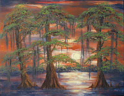 Painting - Cypress Swamp by Catherine Wilson