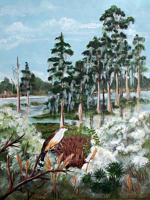 Cypress Swamp Original by Dorothy Riley