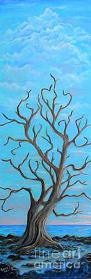 Painting - Cypress  By The Sea by Marlene Kinser Bell