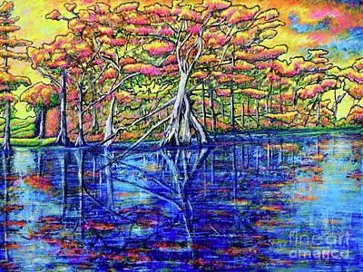 Painting - Cypress Tree by Viktor Lazarev