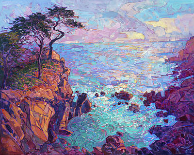 Painting - Cypress Vista by Erin Hanson