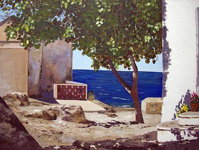Greek Vase Painting - Cyprus  by Aarti Bartake