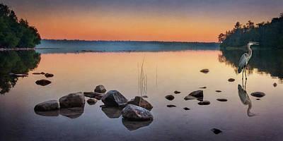 Photograph - Cyprus Lake Sunset by Tracy Munson