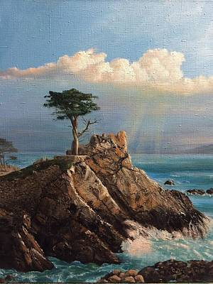 Painting - Cyprus Pine by Cecilia Brendel