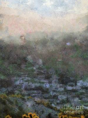 Cyprus Painting - Cyprus Spiritual Home By Sarah Kirk by Sarah Kirk