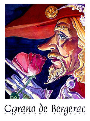 Art Print featuring the painting Cyrano by Tim  Heimdal